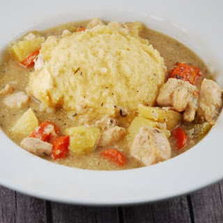 Crock Pot Chicken and Dumplings.