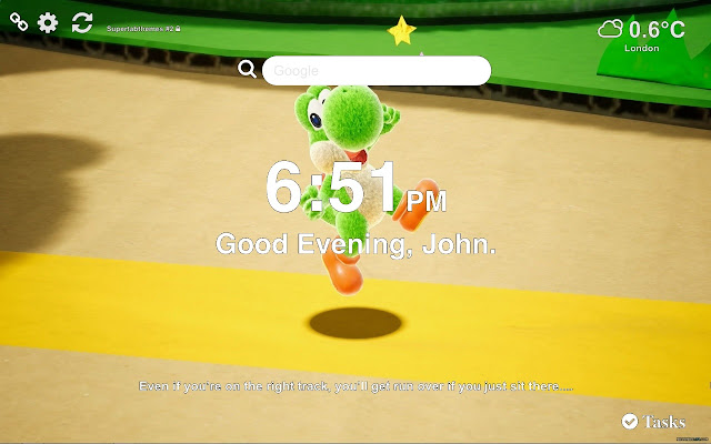 Yoshi's Crafted World Wallpapers New Tab