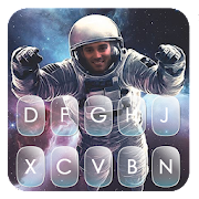 Space Astro Keyboard Theme