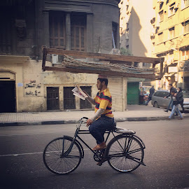 by Aly Hazzaa - Instagram & Mobile iPhone ( cairo, street, downtown, egypt, street photography )