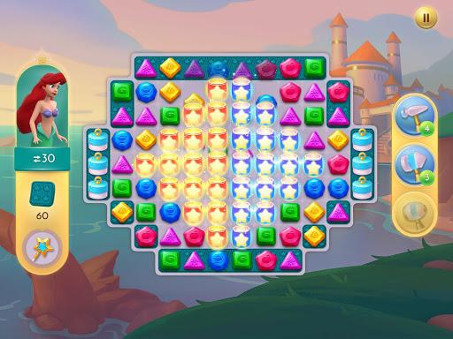 Disney Princess Majestic Quest: Match 3 & Decorate 1.7.1a Screenshots 16