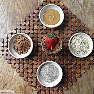 No Bake Chocolate Peanut Butter Chia Oats [No Sugar Added]