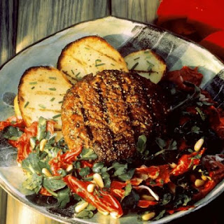 Lamb Patties with Salad