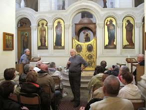 Photo: 13.10.08LaValette : Père Georges Mifsud,église grecque catholique ND de Damas