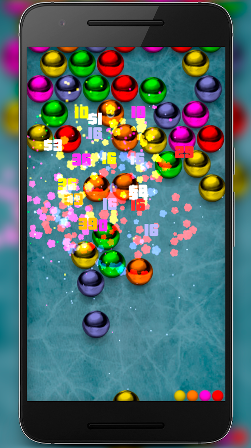 Magnetic balls bubble shoot- screenshot