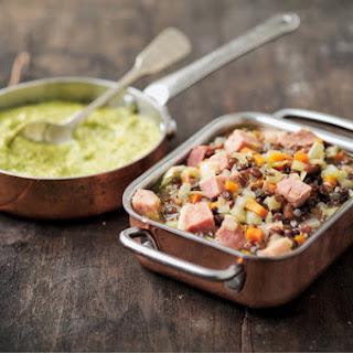 Ham and Green Lentils Recipe