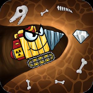 Digger Machine find minerals MOD APK 2.2.1 (Unlimited Diamonds)