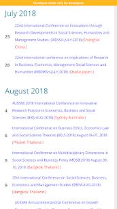 Conference Alerts 4