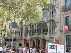 Photo: Gaudi multi-purpose building in central Barcelona.