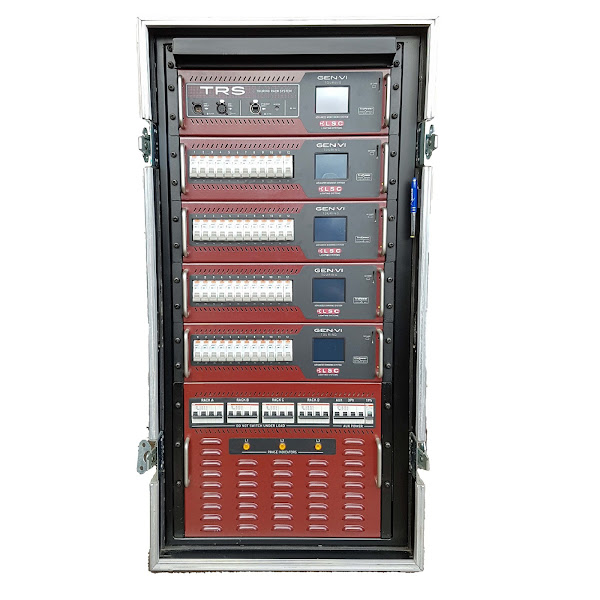 48Way LSC Dimmer Rack front