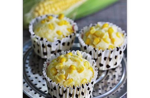 Japanese Steamed Sweetcorn Bun Recipe