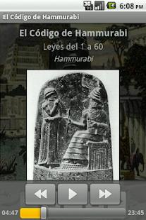 El Código de Hammurabi - screenshot thumbnail