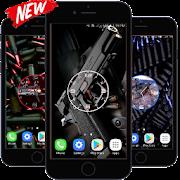 Weapon Clock Live Wallpaper HD