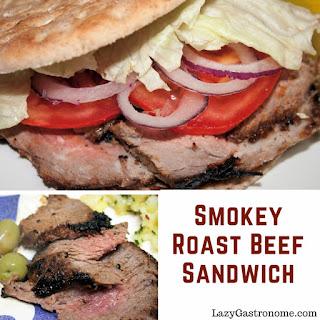 Smokey Roast Beef Sandwiches.
