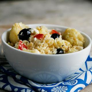 Cauliflower Blueberry Couscous Salad with Meyer Lemon Vinaigrette