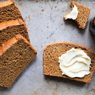 Guinness Molasses Bread with Maple Butter