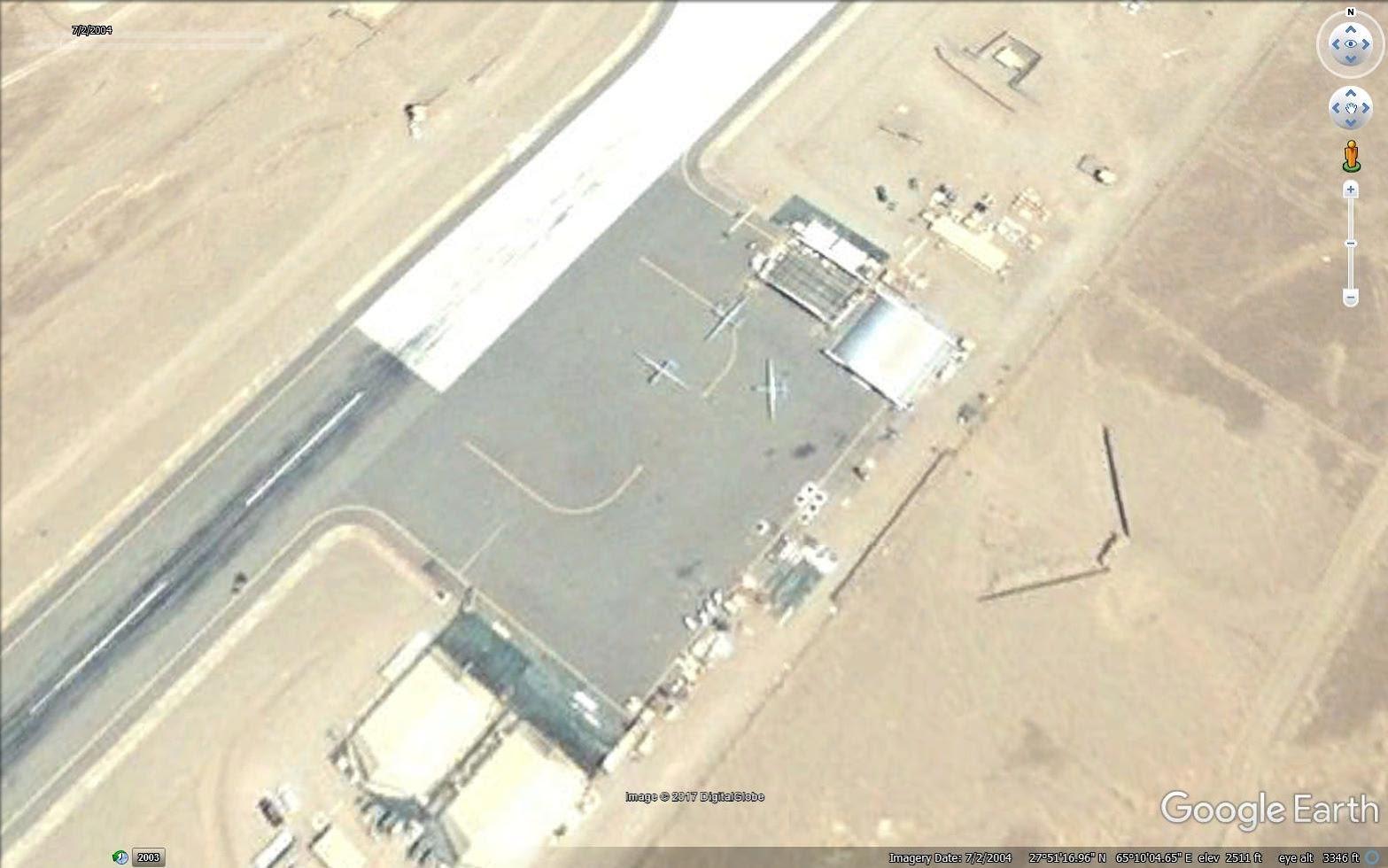 3 American Predator drones in 2004