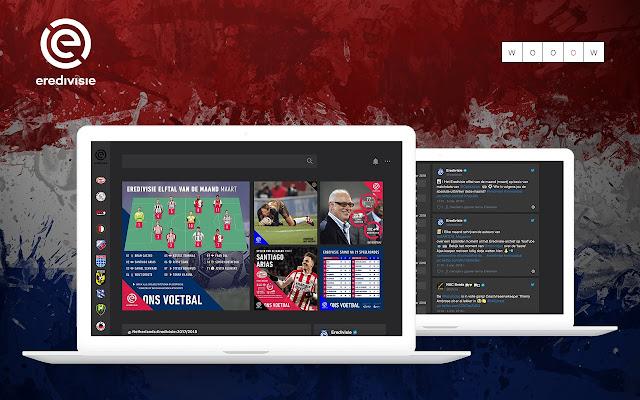Wooow New Tab - Eredivisie