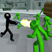 Stickman Zombie Shooting 3D