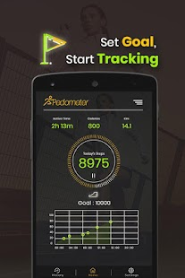 Pedometer - Count Step, Calories & Fitness Tracker- screenshot thumbnail
