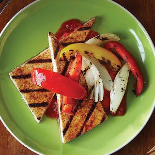 Spice-Rubbed Tofu Steaks.