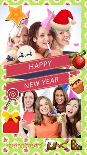 新年贺卡祝福语专用 : 拼贴制造商