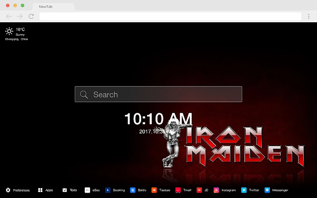 Iron Maiden New Tab Band HD Wallpapers Themes