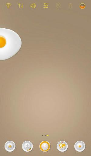 早餐是煎蛋 桌面主题 玩個人化App免費 玩APPs