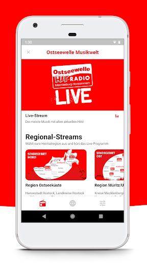 Ostseewelle HIT-RADIO M-V screenshot 2