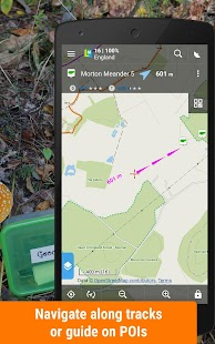 Locus Map Free - Hiking GPS navigation and maps- screenshot thumbnail