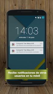 billetes tren mesa ave renfe aplicaciones de android en