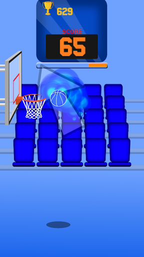 One Touch Dunk: Jeu de basket-ball d'arcade 2D  captures d'écran 2