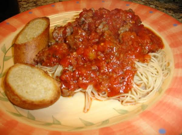 Slow-cooked Spaghetti Sauce Recipe