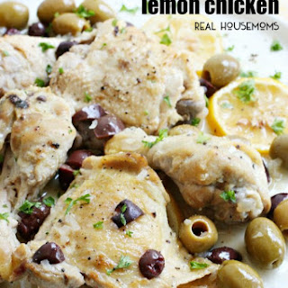 Pressure Cooker Lemon Chicken