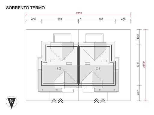 Sorrento Termo - Sytuacja