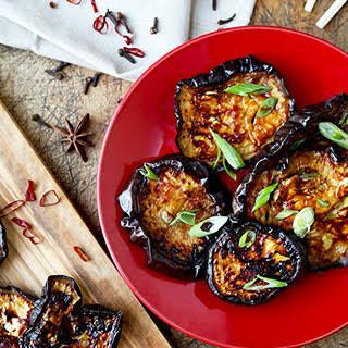 Char Siu Style Roasted Eggplant.