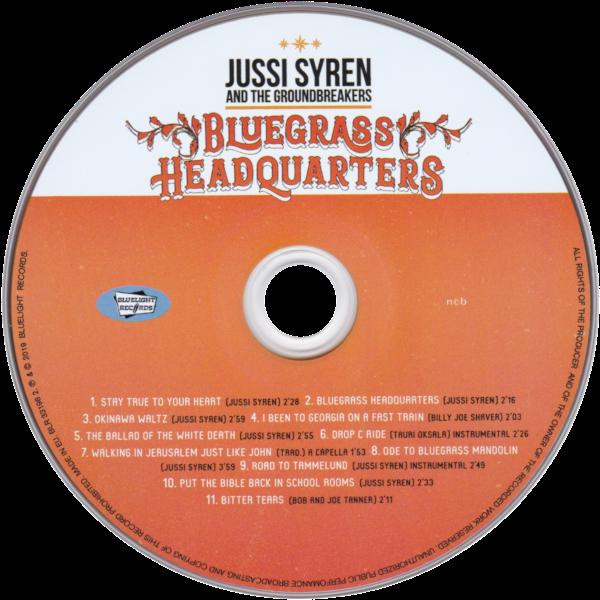 Bluegrass Headquarters - CD