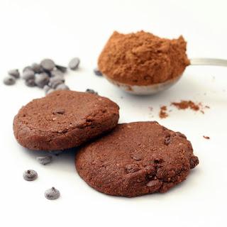 Choco Chip Cocoa Cookies (Gluten-Free, Vegan, Refined Sugar-Free)