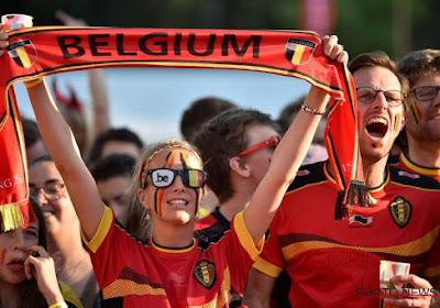 🎥 Découvrez l'ambiance mise par les supporters belges à Glasgow ce lundi !