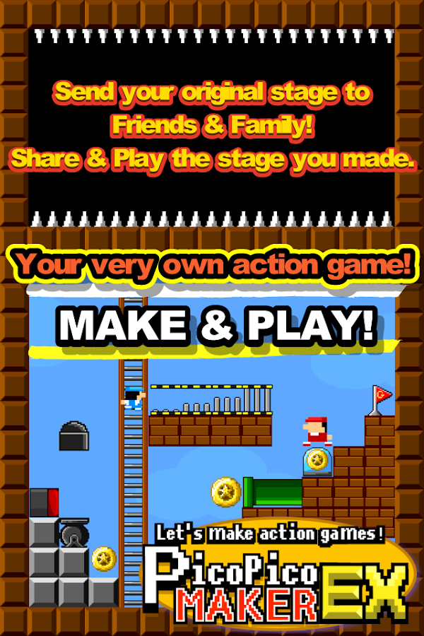 Make Action! PicoPicoMaker- screenshot