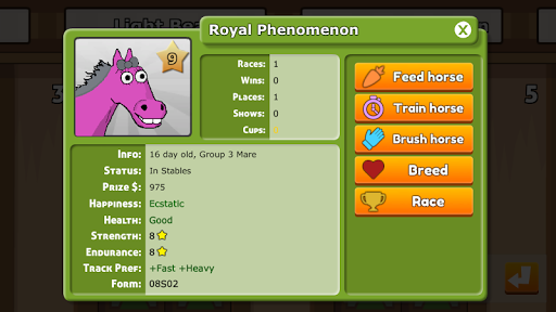 Hooves of Fire Horse Racing Game: Stable Manager 4.05 screenshots 6