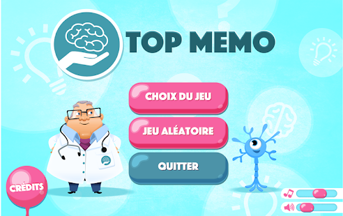 Top Memo - Brain training (Unreleased) – Vignette de la capture d'écran