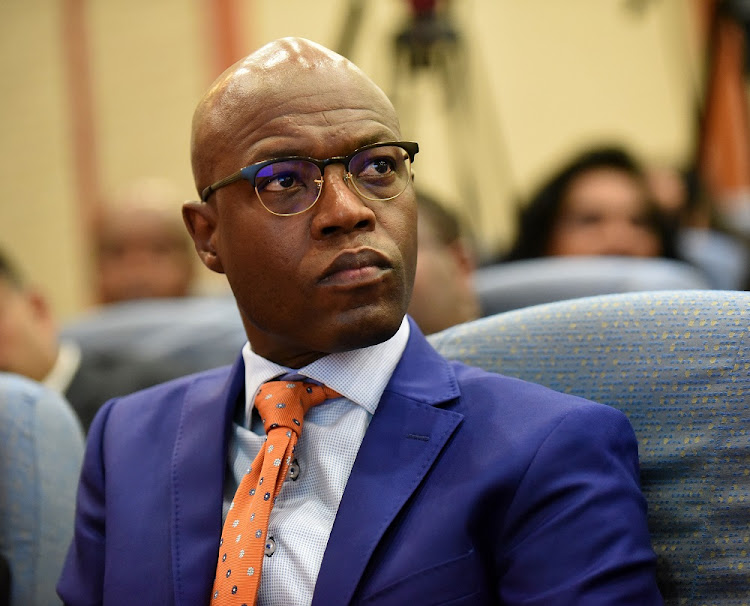 Suspended acting CEO Matshela Koko