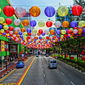 COlor by Arik S. Mintorogo - City,  Street & Park  Street Scenes ( garyfonglandscapes, holiday photo contest, photocontest )