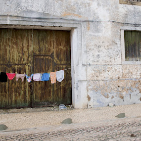 Roupa by Anabela Henriques - City,  Street & Park  Street Scenes ( roupa, laundry,  )