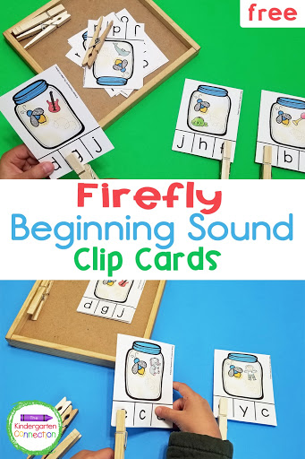Firefly Initial Sound Clip Cards