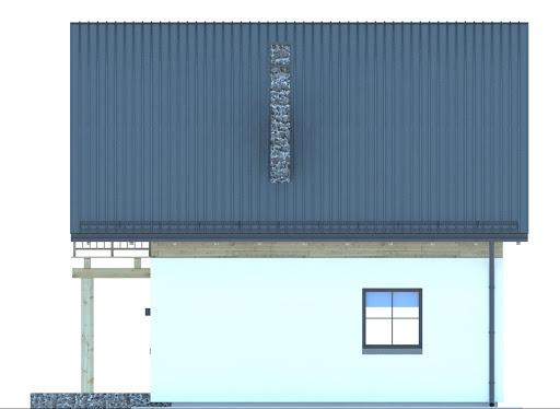 G161 - Budynek letniskowy - Elewacja prawa