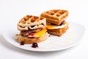 Protein Waffle Towers