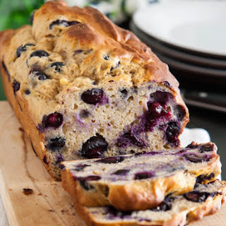 Blueberry-Banana Bread –