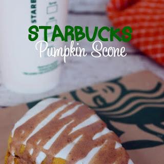 Copycat Starbucks Iced Pumpkin Scones.